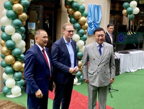 Empfang Botschaft Mongolei